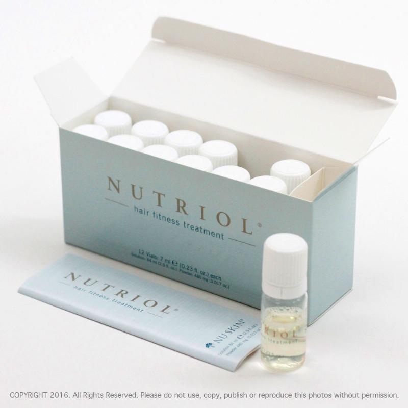 Sản phẩm chăm sóc tóc Nutriol Hair Fitness Treatment (12 lọ/hộp, 7 ml/lọ)