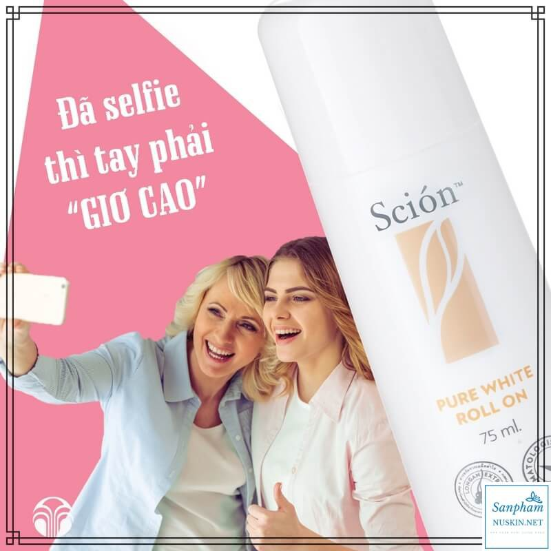 Lăn Khử Mùi Scion™ Pure White Roll On